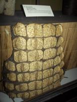 Egyptian Breastplate made from crocodile bones